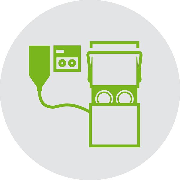 Dosiertechnik Gläser- und Geschirrreinigung Servicemodul
