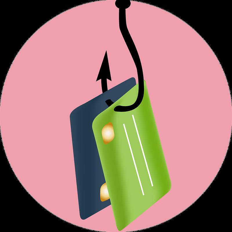 Angeln persönlicher Daten (Phishing)