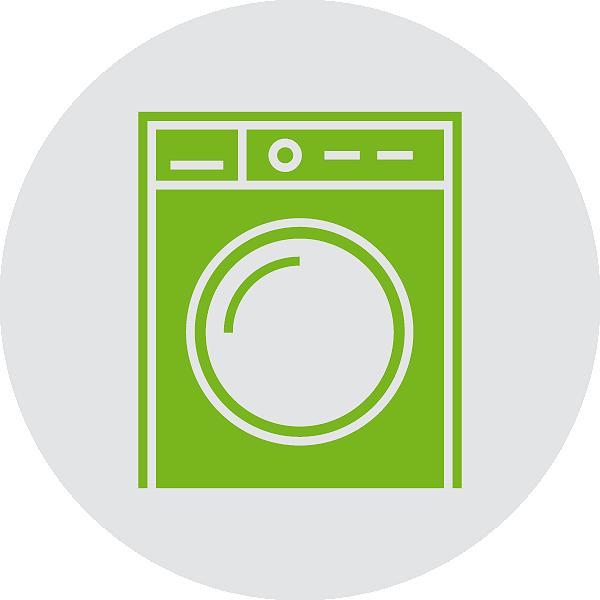 Waschprozess Wäschereinigung & -pflege
