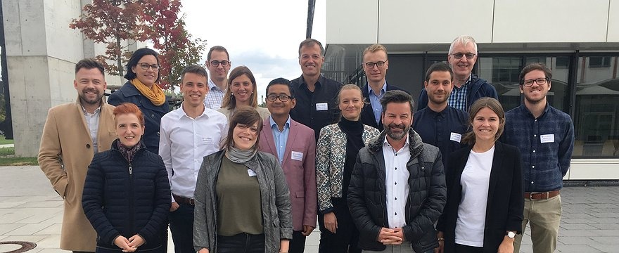 Zweites Konsortialtreffen Projekt AgilHybrid in Leipzig