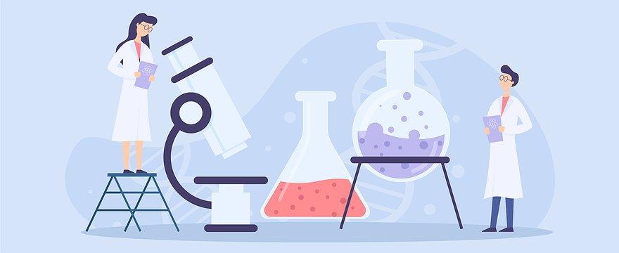 Chemie-Experimente mit einem Experimentierroboter