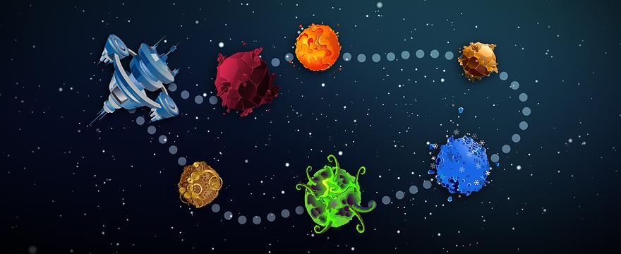 Die Story - Teil 1: Die Planeten