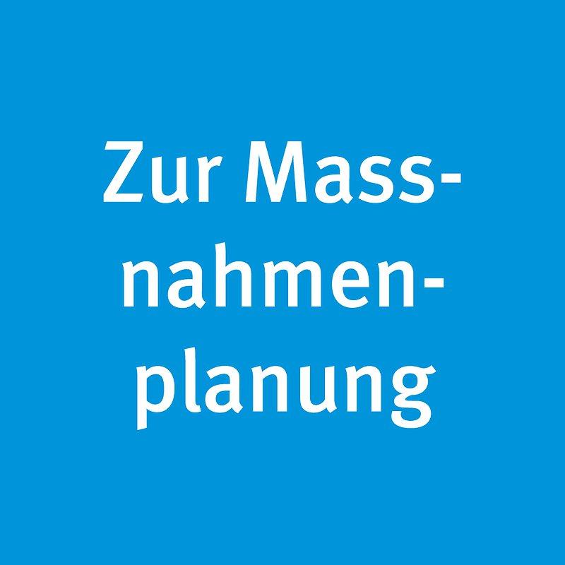 Maßnahmenplanung
