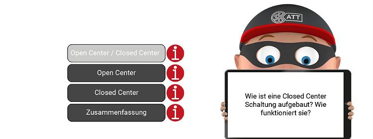 ATT Open Center / Closed Center