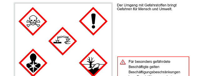 SZENARIS Gefahrstoffe I