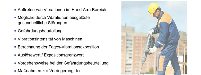 SZENARIS Hand-Arm-Vibrationen