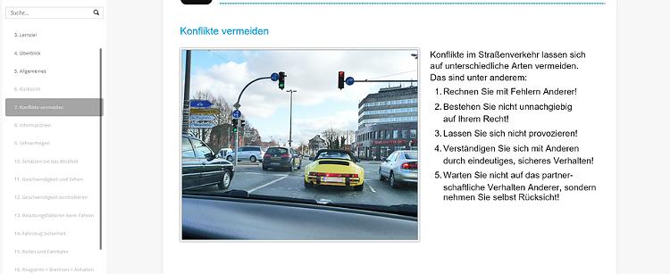 Sicherheit im Straßenverkehr