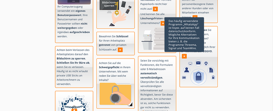 Datenschutz/eLearning